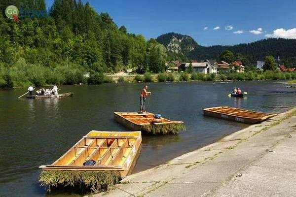 שייט רפסודות בסלובקיה  (צילום: Edgars En)