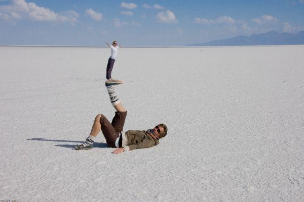 תעתועים במדבר המלח (צילום: Andrew Miller)