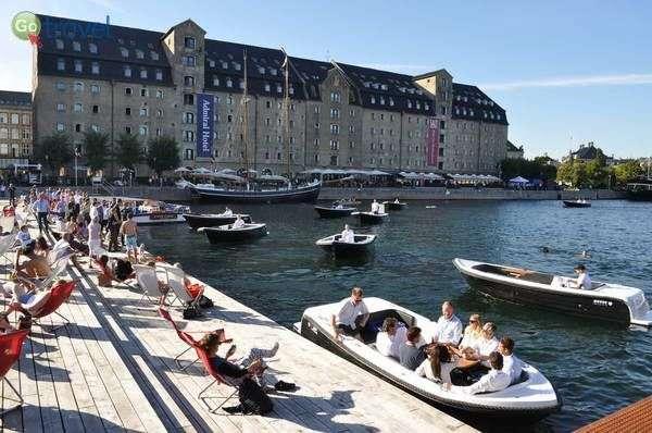 הנמל של קופנהגן ומלון אדמירל  (Admiral Hotel Copenhagen)