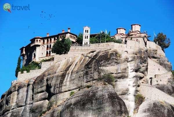 מנזרי מטאורה (צילום: כרמית וייס)