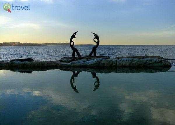 חוף מנלי  (צילום: אמנון כרמל)