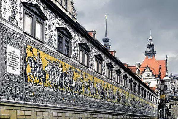 קיר תהלוכת הנסיכים  (צילום: LBM1948)