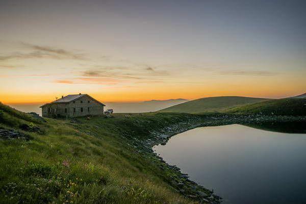 אגם אלפיני על הר פליסטר  (צילום: Bojan Rantaša)
