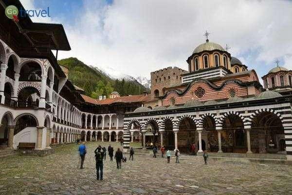 מנזר רילה - הגדול במנזרי בולגריה  (צילום: כרמית וייס)