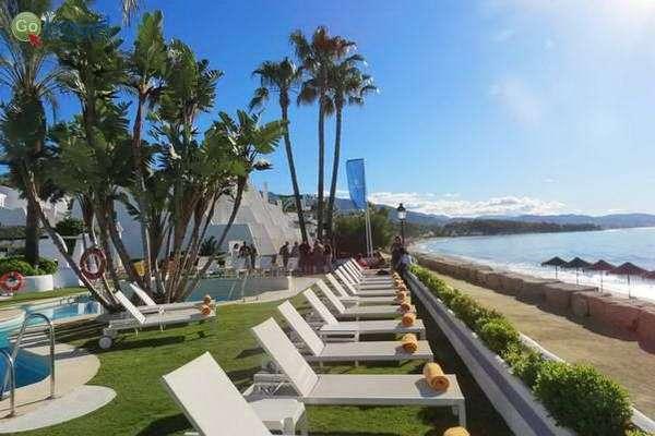 החוף הפרטי של מלון איברוסטאר  (צילום: כרמית וייס)