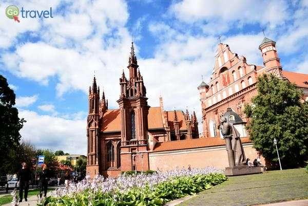 כנסיות בעיר העתיקה של וילנה  (צילום: כרמית וייס)
