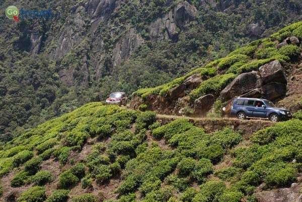 הג'יפים בדרכי ההרים של סרי לנקה (צילום: ארנון רומן)