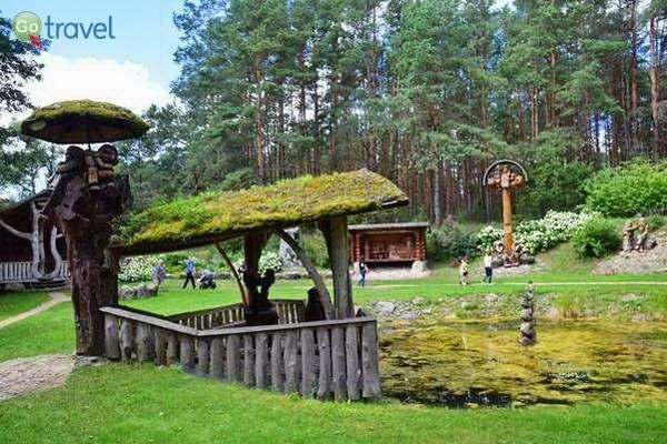 פארק גילופי העץ  (צילום: כרמית וייס)