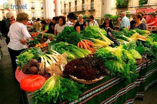 שווקים תוססים של תוצרת טרייה    (צילום: Bilbao tourismo)