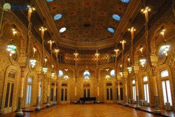ארמון הבורסה, החדר הערבי (צילום: כרמית וייס)
