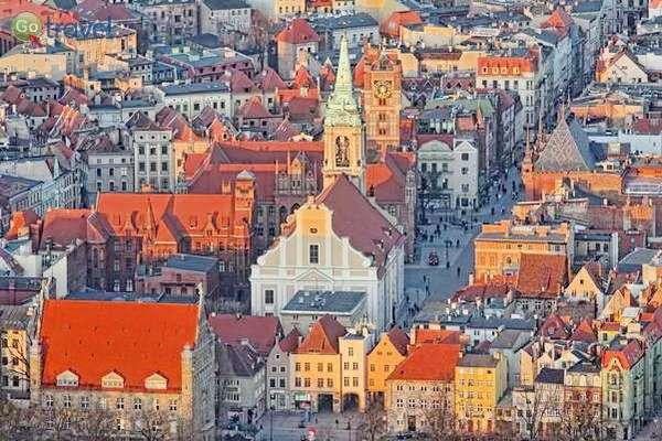 גגות טורון ומגדל הקתדרלה  (צילום: Visit Torun)