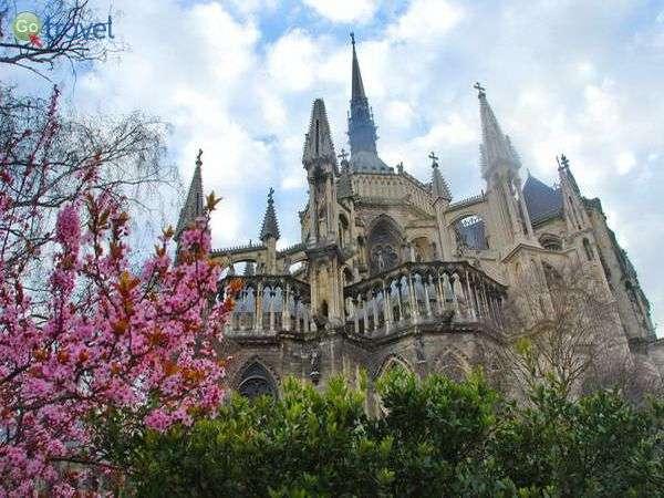 הקתדרלה של ריימס (צילום: כרמית וייס)