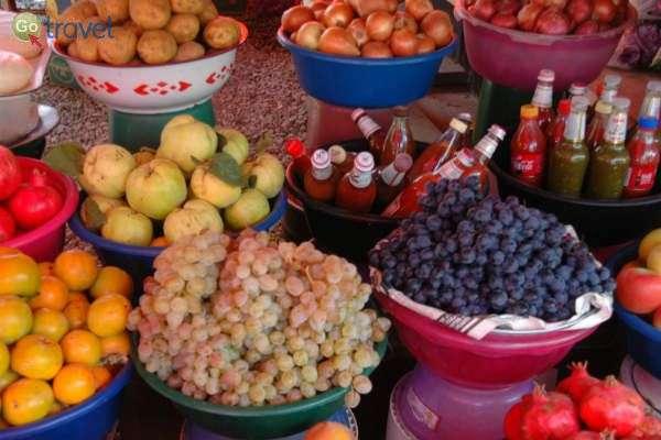 """גאורגיה - חגיגה צבעונית של ענבים וטעמים (צילום: ד""""ר רמי דברת)"""