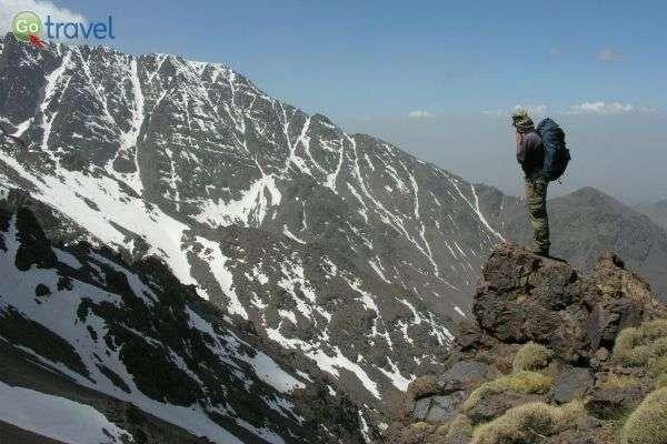 ההרים של מרוקו - יפים יותר ללא קליטה (צילום: עודד לבנוני)