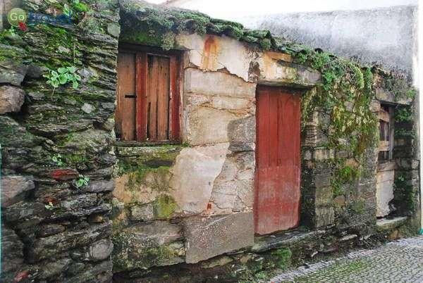 בתים מכוסי אזוב בכפר הקטן פרובסנדה (צילום: כרמית וייס)