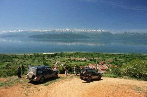 תצפית על אגם פרספה  (צילום: markoskavesna)