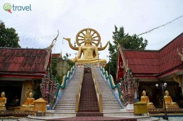 הפסל המוזהב של בודהה הגדול  (צילום: ניסים טורקיה)