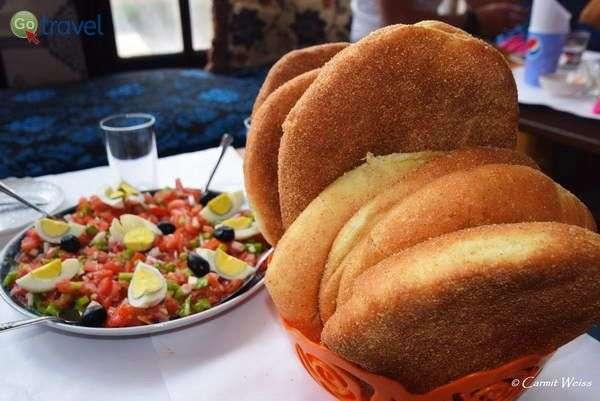 לחם פרנה - זהירות ממכר!  (צילום: כרמית וייס)