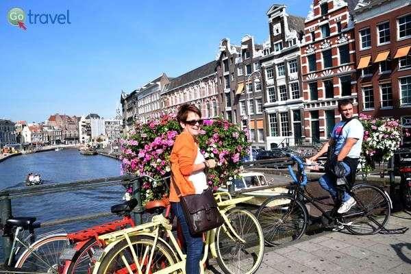גשרים ואופניים תמיד הולכים יחדיו  (צילום: כרמית וייס)