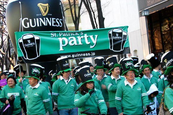 חגיגות סנט פטריק'ס אינן שלמות בלי בירה אירית (צילום: Sean Barry)