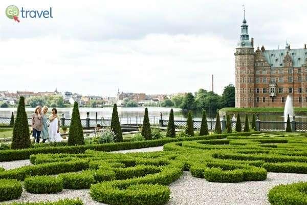 בדנמרק טירות וארמונות רבים בשל ריבוי בני מלוכה (צילום: Niclas Jessen)