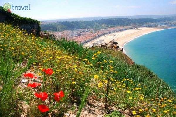 העיירה נזארה, לאורך קו החוף הפורטוגזי (צילום: כרמית וייס)