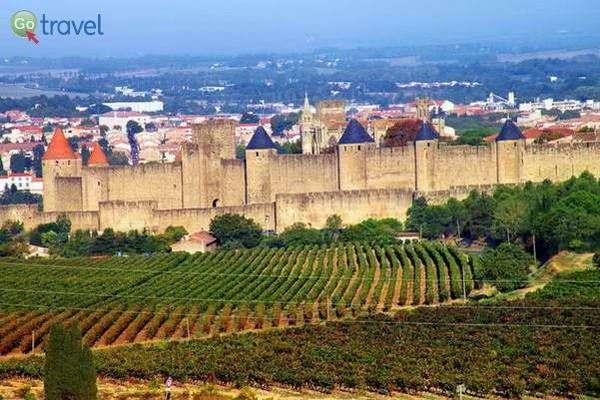 תצפית על המצודה של קרקסון  (צילום: כרמית וייס)
