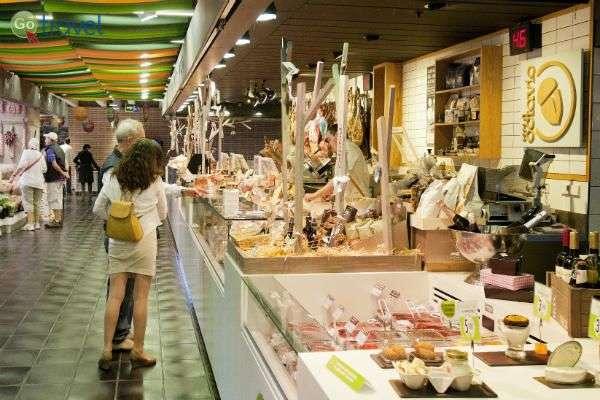 שוק סן אנטו הצבעוני (צילום: MAdrid Destino@)