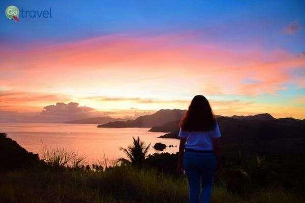 שקיעה מרהיבה על איי קרמואן (צילום: כרמית וייס)