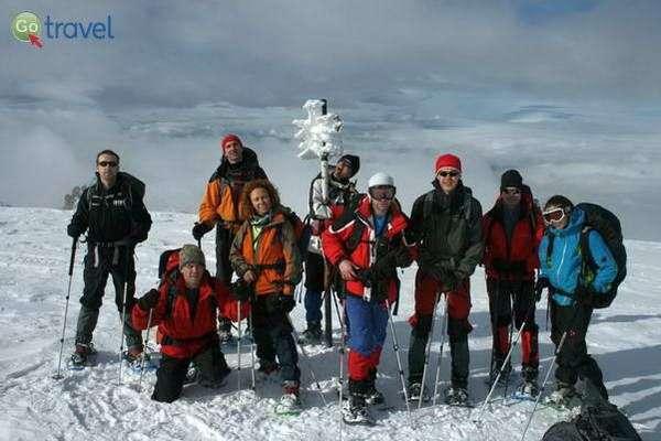 טיול בשלג בנעליים מיוחדות  (באדיבות MEDRAFT)