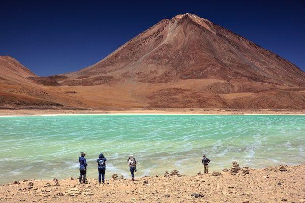 הלגונה הירוקה, סמוך לגבול עם צ'ילה (צילום: Murray Foubister)
