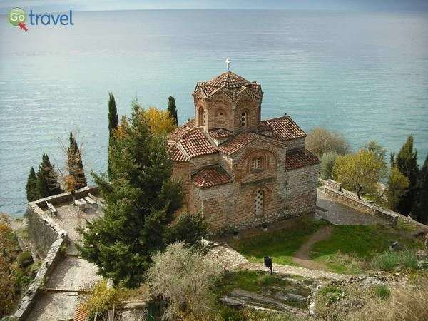 כנסיית סנט יוהן, אגם אוחריד (צילום: Klovov)