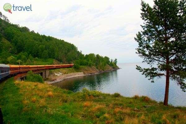 נסיעה סביב אגם באיקל היפהפה (צילום: טלי גפן)
