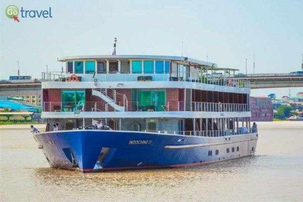 ספינת נהרות מפנקת לאורך המקונג (צילום: באדיבות גורדון טורס)