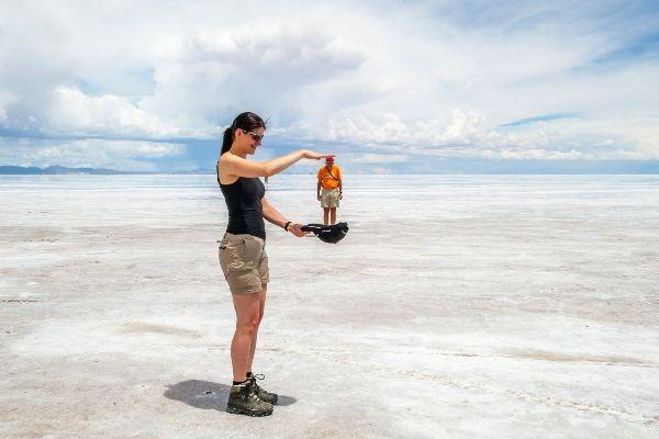תעתועים במדבר המלח (צילום: Alexander Schimmeck)