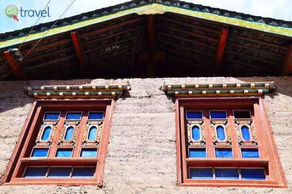 ארכיטקטורה בכפר סיזונג  (צילום: כרמית וייס)