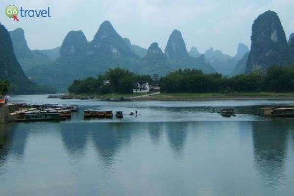שייט על נהר האלי בסין (צילום: גולן לובנוב)