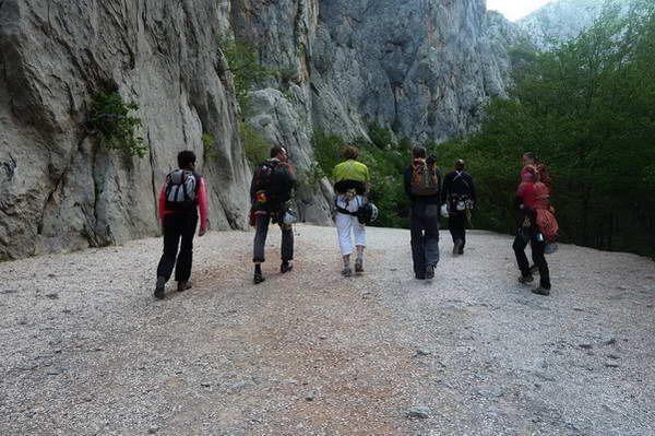 טיפוס צוקים בפארק הלאומי פקלניצה  (צילום: Danilo Tic_29)