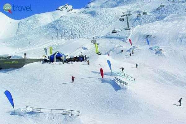 סנו-פארק באתר הסקי טיטליס (באדיבות: Engelberg-Titlis)