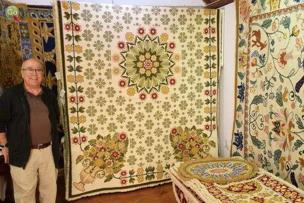שטיחי אריולוש  (צילום: כרמית וייס)