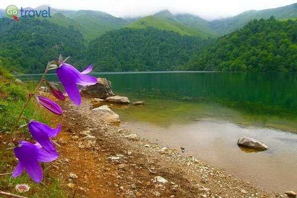 אגם גויגול במערב המדינה  (צילום: Naturefriends)