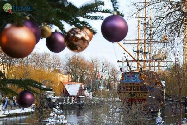 אווירת חג בגני טיבולי (צילום: VisitDenmark)