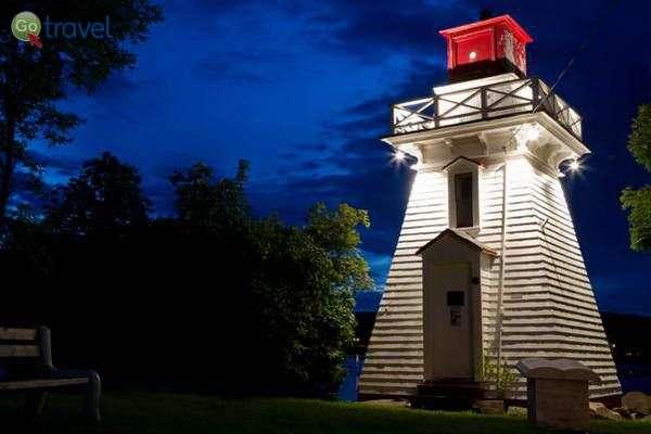 המגדלור של אנאפוליס רויאל  (צילום: Jordan Crowe)