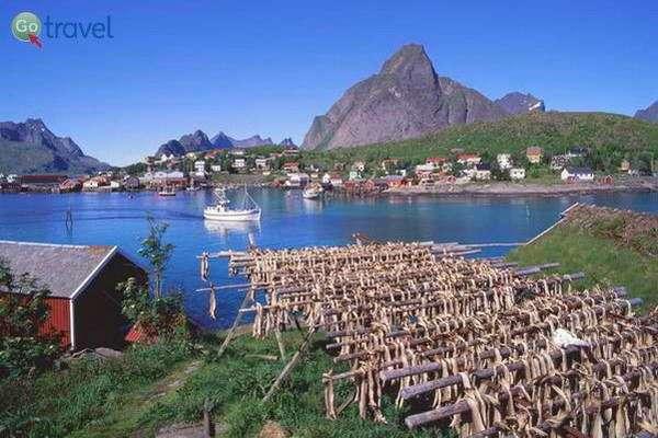 דגים מתיבשים בשמש  (Frithjof Fure - Visitnorway.com)