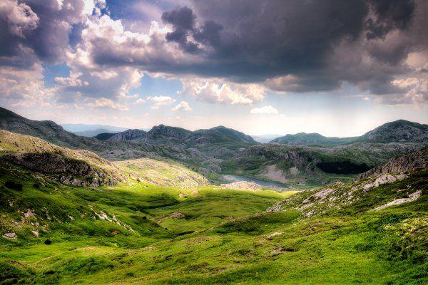 רכס זלנגורה בפארק הלאומי סוטייסקה (צילום: Petkovic Boris)