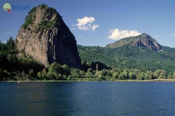 הר ביקון מעל נהר קולומביה במלוא הדרו!   (צילום: U.S. Forest Service)