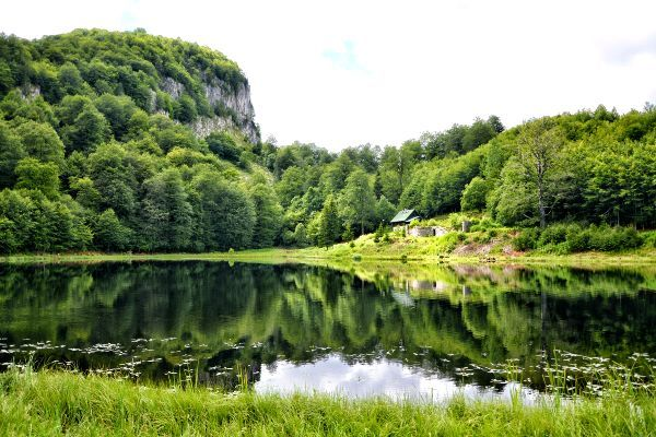 אגמים ונופים ירוקים (צילום: Milos13)