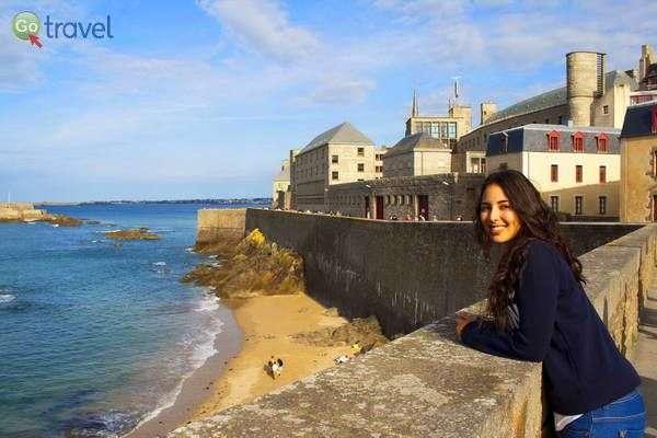 החומה של סן מאלו  (צילום: Mar Kiddo)