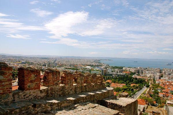 תצפית על העיר מהמצודה של סלוניקי (צילום: Jaime Pérez)