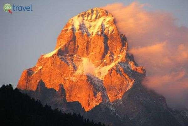 פסגת הר אושבה לעת שקיעה  (צילום: גלעד תלם)